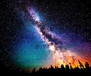 stars, sky, and galaxy image