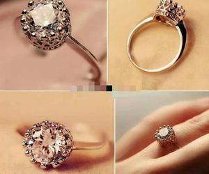 ring, diamond, and fashion image