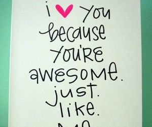 love, quote, and awesome image