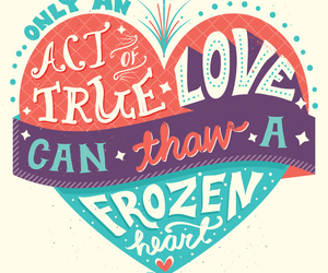 frozen, typography, and inspiration image