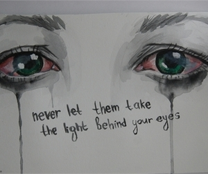 mcr, my chemical romance, and light behind your eyes image