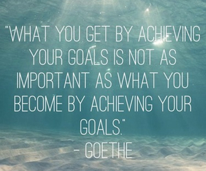 goals and goethe image