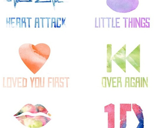 heart attack, kiss you, and little things image