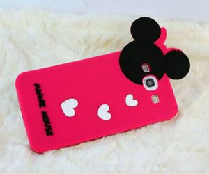 case, phone, and minnie image