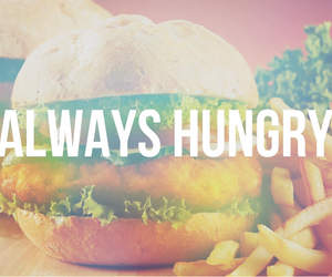 food, love food, and always hungry image