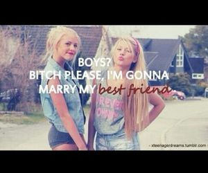 marry, boy, and friends image