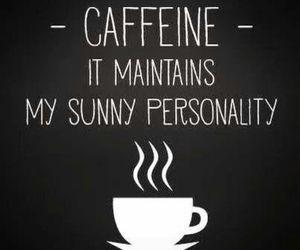 caffeine, good morning, and coffee image