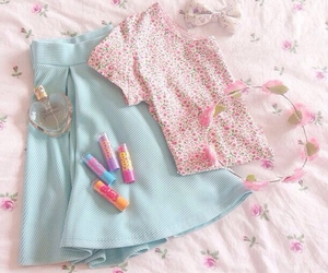 fashion, flowers, and cute image