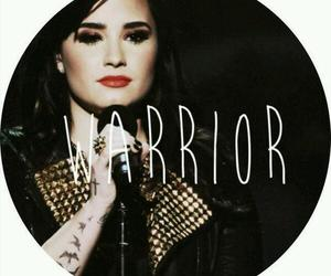 demi lovato and warrior image