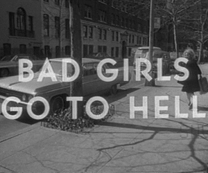 girl, hell, and bad image