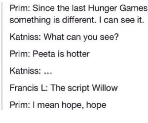 different, funny, and catching fire image