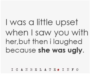 quote, ugly, and text image
