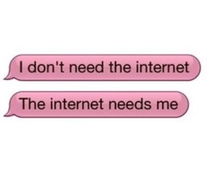 internet, quotes, and pink image