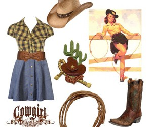 Cowgirl, hillbilly, and look image