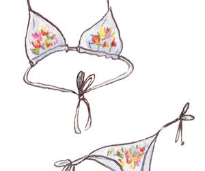 art, bikini, and mangomini image