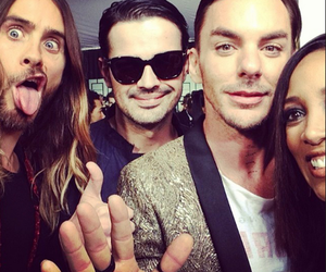 30 seconds to mars and grammy2014 image