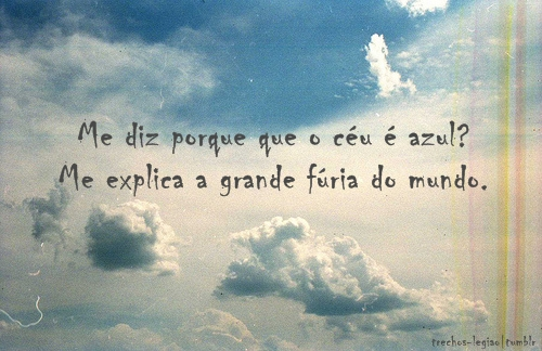 Image About Ceu In Frases Para Ocupar A Mente By The Magic World