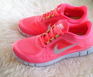 nike, cute, and pink image