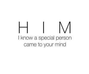 him, love, and quote image