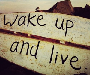 yolo, wake up and live, and you only live one's image