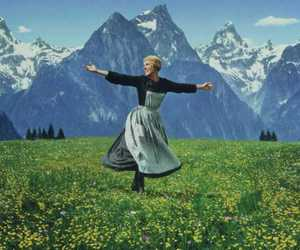 julie andrews, maria, and the sound of music image