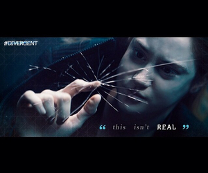 real, divergent, and tris image