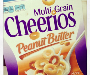 cereal, cheerios, and food image
