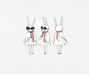 fashion, fifi lapin, and illustration image