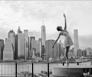 dance, city, and ballet image