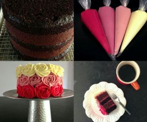 colorfull and cool cake image
