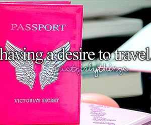 travel, just girly things, and passport image