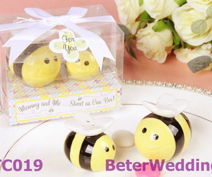 wedding, baby, and bee image