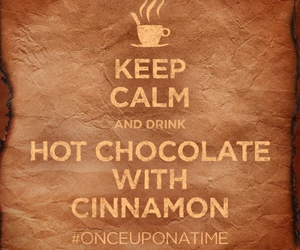 once upon a time, keep calm, and Cinnamon image