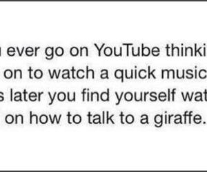 youtube, video, and giraffe image
