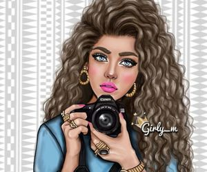 girly_m, drawing, and camera image