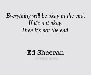 end, life, and quotes image