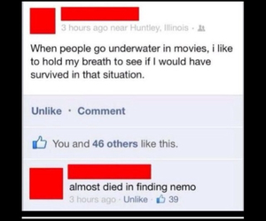 facebook, funny, and movies image