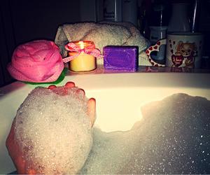 bath, bipolar, and demi lovato image