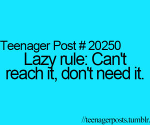 teenager post, Lazy, and funny image