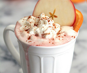 apple and drink image