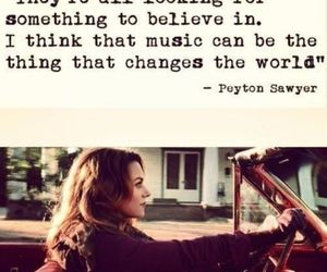 music, one tree hill, and quotes image
