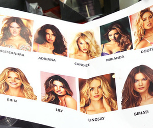 Victoria's Secret, Adriana Lima, and vs image