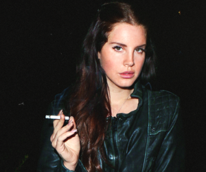 lana del rey, grunge, and cigarette image