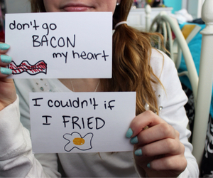 tumblr, quality, and bacon image
