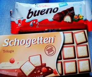 choco, delicious, and kinder image