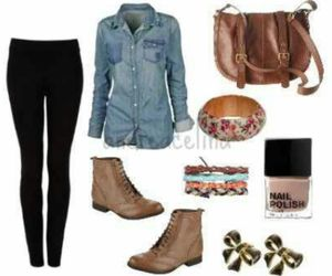i like, cute outfit, and swag image