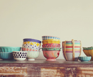 bowls, indie, and cups image