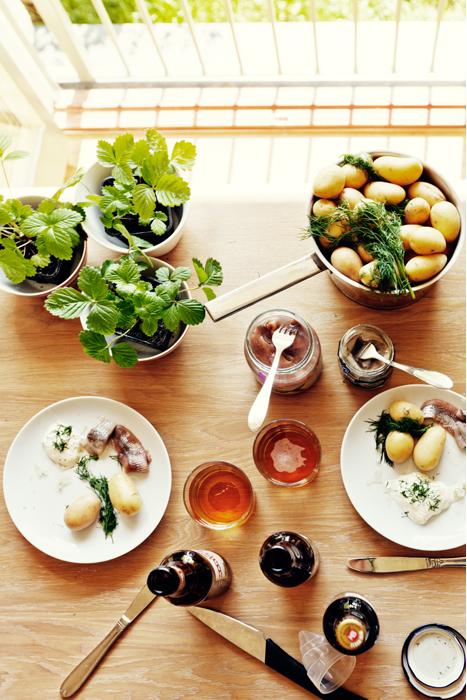 potato, sill, and herring image