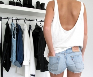 clothes, shorts, and cute image