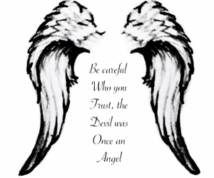 angel and divel image